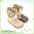 venta al por mayor de nuestra marca pandi chica de moda infantil de botas de media caña