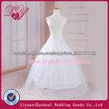 2014 enagua de la crinolina del vestido de boda de moda y hermoso