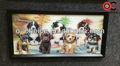 Ck-9 famosa sala de la nueva decoración de moda 3d perros anime cuadros pinturas