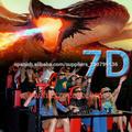 7d cine simulador película 7d
