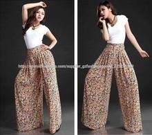 Venta caliente la mujer pantalones de vestir pantalones largos