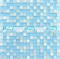 itália bisazza crystal glass mosaic telha hco003mt céu azul mosaico para piscina quadrados de mosaico de pedra azulejo fábrica