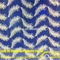 48 pulgadas de nuevo diseño embrodiery de nylon de tul de tela de encaje