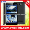 MTK6575 6 pulgadas de gran pantalla táctil Android 4.1 teléfono móvil yxtel