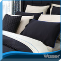 guangzhou de producción de alta calidad 300 hilos de seda bordada funda de almohada