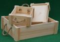 antigua bandeja de madera