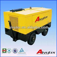 Portátil diesel tornillo compresor de aire para la explotación de canteras/la minería/de voladura