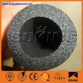 isotermal material aislante de goma espuma acústica en aislamiento de la pared