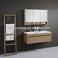 cuarto de baño muebles de chapa para el diseño de alto nivel para el mercado de los países europeos