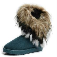 2013 invierno nieve botas de moda las botas de felpa borlas