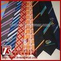 Para hombre corbatas de seda, logotipo personalizado lazos, los lazos de la escuela, clip sobre las relaciones, zipp corbata