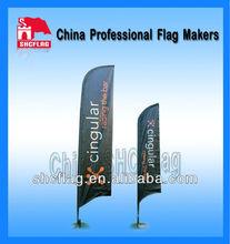 logo bandera de la pluma de impresión marca personalizada