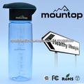 FDA Food Grade BPA liberan la botella de agua de plástico con insignia modificada para requisitos