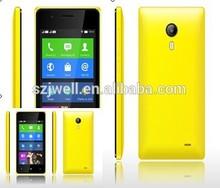 Venta al por mayor nuevo modelo de llegada android 4.4 wcdma teléfono 850/1900/2100