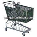 plegable carro de supermercado de compras carro para la venta