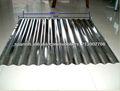 chapas de acero galvanizado para techos corrugados