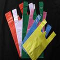 china de plástico personalizada bolsas de chaleco portador para el mercado