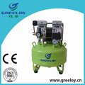 Shanghai Greeloy Low noise high flow oil free silent air compressor for sale
