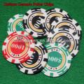 Cerâmica fichas de poker de cerâmica batatasfritas--- com trigo design