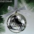 Natal decorativo neve bola de vidro