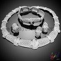 925 joyas astilla conjunto italiano bisutería joyería conjunto al por mayor alibaba