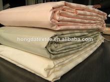100% satén de algodón tela de la raya libre de arrugas