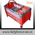 el color cálido pesebre del bebé con doble cama cuna de diseños