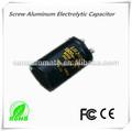450v 470uf 20% tornillo de condensador electrolítico de aluminio