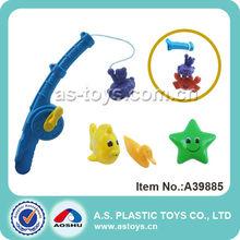 2014 nuevo diseño magnético de plástico juego de la pesca juguetes para los niños