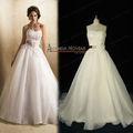 Vestido sin tirantes de la venta caliente Novedades Sash Cinturón elegante de la boda NS195
