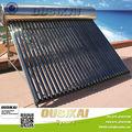 acero inoxidable calentador solar de agua