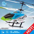 Fd1103 2.4g 3.5ch ben10 helicóptero de brinquedo do rotor principal de helicóptero fpv