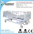 usado móveis hospitalares 3 manivelas cama de hospital manual