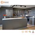 Moderno blanco de alto brillo de laca gabinete de cocina para la venta, gabinete de cocina modelo