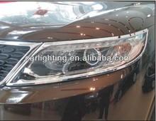 2013 toyota sorento cromado faro de coches/coches accesorios/tuning y styling/es de ABS plasticos y cromo y 3M cinta