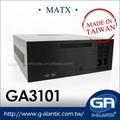 Intercambio en caliente caja de la computadora micro atx GA3101 para el sistema i5