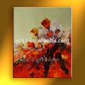 pintura al óleo abstracta para sala de estar