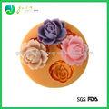 Venda Quente Popular Colorido flor em forma de bolo assadeira