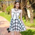 Los modelos dabuwawa vestidos de verano de los patrones de gasa de vestidos de verano y sund. Resses