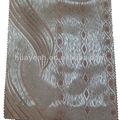 la tira de oro patrón jacquard cortinas de tela