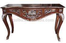 El vestíbulo de estilo art deco diseñoitaliano de la consola de mesa jhf14-yst10019