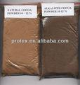 Cacao natural en polvo, 10-12% grasa