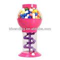 Sprial máquina de chicle, dispensador de dulces, dispensador de snack