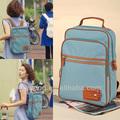 alibaba proveedor de china de deporte de lona lindo ordenador portátil mochila para la escuela secundaria de las niñas