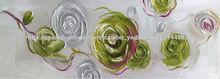 pintura al óleo de la flor del hotsale