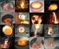 de aço forno de fundição na china