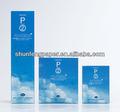 140 gsm papel couche brilho uso para todo tipo de fornecedor de embalagem em guangzhou
