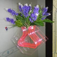 Vaso de plástico reutilizável claro personalizado disponível