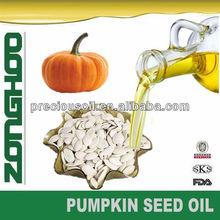 Óleo de semente de abóbora orgânica