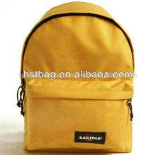 día especial paquete de mochila mochila de color amarillo mochilacompartimiento principal